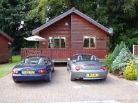 2 Bedroom Detached Log Cabin Holiday home for sale at Bridlington Links Heritage Park (1014)