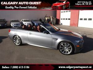 2009 BMW M3 Convertible / 6-Speed Manual / LOW KM / NAVIGATION