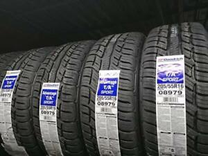 205/55r16 bfgoodrich g-force comp2 a/s allseason tires set of four brand new now on sale!!!