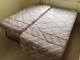 Single Bed with bed stowed underneath