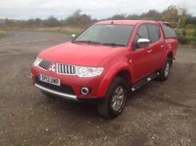 13/13 MITSUBISHI L200 TROJAN DOUBLE CAB DI-D PICK UP £10999 INC VAT