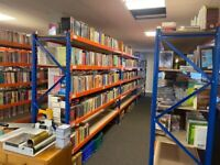 NEW EXCEL STORAGE SYSTEM WAREHOUSE LONGSPAN RACKING BAY (Brentwood Branch)