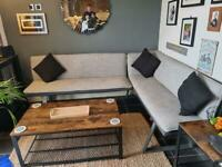 Barker & Stonehouse corner seating