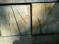 Oak fire wood , small posts .