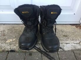Hitech Extreme Snow Boots - Blue Size 7