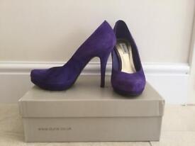"""Purple """"Dune"""" Shoes"""