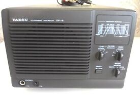 yaesu sp 8 filtered extension speaker