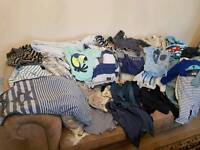 Boys Clothes Bundle 9-12 months Next/ M&S 40 items