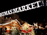 Christmas market stall worker required