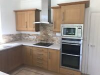 Full kitchen -solid wood doors, matching colour carcus, amazing quality