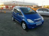 MERCEDES A160 WITH ONLY 55000 MILES AND FULL SERVICE HISTORY,