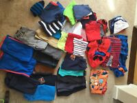 Bundle of boys clothes age 4 years.