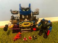 Imaginex Batman cave toy with accessories