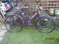 X3 VINTAGE BIKES FOR RESTORATION ONE OF MANY QUALITY BICYCLES FOR SALE