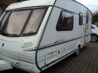 2001 4 berth abbey vogue gts motor mover full awning