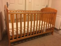 FOR SALE: Cot bed and Wardrobe