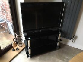 Sony Bravia television and stand