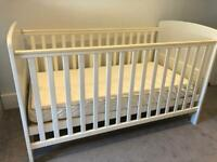 Cot and child's bed - John Lewis