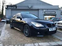 BMW 5 SERIES 3.0 530D M SPORT BUSINESS EDITION 4d AUTO 232 BHP (black) 2009