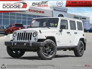 2015 Jeep WRANGLER UNLIMITED SAHARA | 6-SPEED MANUAL | PREMIUM A