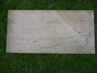 30 of 29cm x 60 cm square polished stone slabs - that were bought but not needed - PRISTINE
