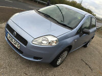 2006 NEW shape Fiat GRANDE Punto 1.2 cc NEW MOT 1 years great drive cheap insuance