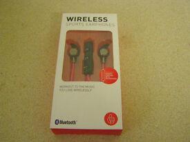 Wireless Bluetooth Sports Headphones (earbuds)