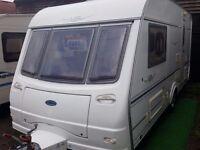 2005 Coachman VIP 460 - 2 Gold 2 Berth End Washroom Caravan with Motor Mover