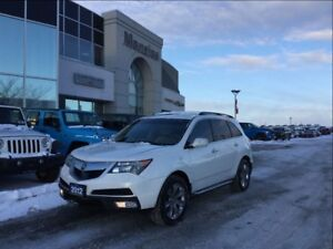 2012 Acura MDX Elite Pkg, Bluetooth, Navi, Cam, Clean Carproof