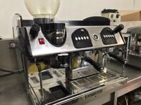 COMMERCIAL TRADITIONAL COFFEE ESPRESSO MACHINE TO RENT SHORT TERM LONG TERM EASY IN & OUT NO FUSS