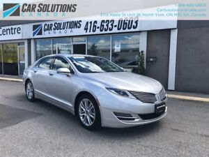 2014 Lincoln MKZ Hybrid-Navi-leather-Snroof