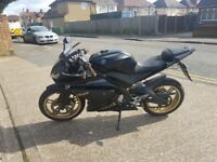 2010 r125 gear bike not cbr