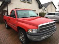 Dodge Ram Pick up. LPG