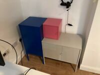 IKEA LIXHULT metal cabinets
