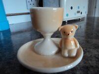 LOVELY TEDDY BEAR EGG CUP.