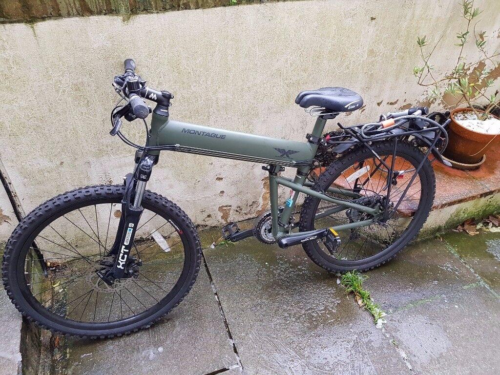 92cd9373781 Montague Paratrooper 2017 Folding Mountain Bike 20'' Green Color ...