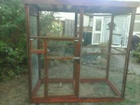 For sale used aviary