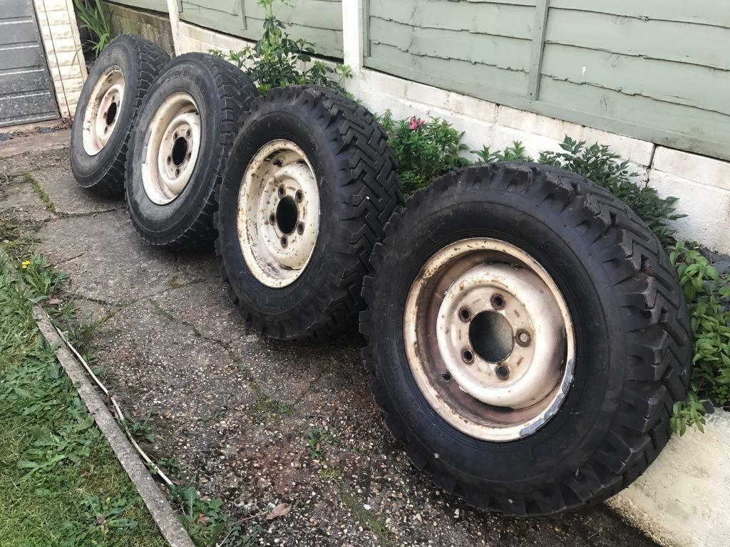 Land Rover Defender Wheels 7.50 X 16 New Tyres