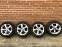 """Mercedes SLK R170 4x 16""""alloy wheels"""