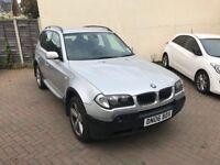 BMW X3 2.0 D SPORT (lightly damage)1 year MOT
