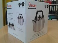 Swan 3.5 L large catering kettle – commercial/professional * New / unused