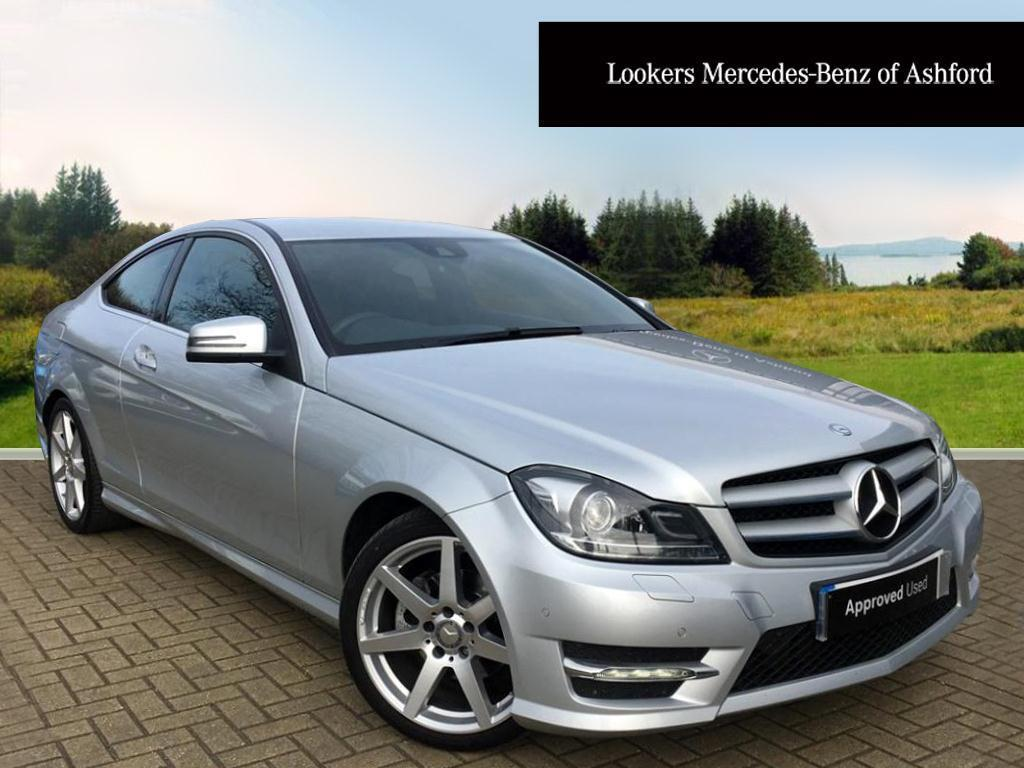 mercedes benz c class c220 cdi amg sport edition premium silver 2015 03 19 in ashford kent. Black Bedroom Furniture Sets. Home Design Ideas