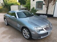 2004 Chrysler Crossfire Coupe; complete with Petrol/LPG conversion - fun, fast and cheap to run!
