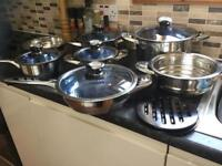Royal Swiss 15 piece cookware set
