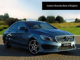 Mercedes-Benz CLA CLA220 CDI AMG SPORT (blue) 2013-10-31