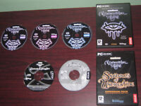 PC Games Neverwinter Nights Deluxe Edition, RPG Cases Discs, PC Software