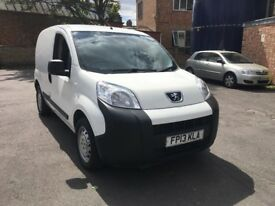 Peugeot bipper 2013 1.3 HDI-S with FSH and Full MOT