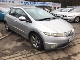 2006 HONDA CIVIC ES IVTEC SILVER 5 FIVE DOOR FULL SERVICE HISTORY ***LADY OWNER*