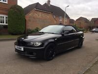 BMW E46 3 Series M Sport Convertible Sraight Pipe Exhaust