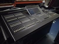 Yamaha M7CL-48 Digital console with Five Star 3 piece flightcase